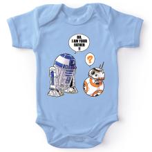Body bébé  parodique R2-D2 et BB-8 : BB, I am your father (VO) (Parodie )