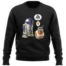 Pull  parodique BB-8 et R2-D2 : BB, je suis ton père !! (Parodie )