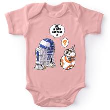 Body bébé (Filles)  parodique BB-8 et R2-D2 : BB, je suis ton père (Super Deformed Edition) (Parodie )