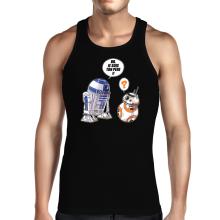 Débardeurs  parodique BB-8 et R2-D2 : BB, je suis ton père (Super Deformed Edition) (Parodie )
