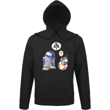 Sweat à capuche  parodique BB-8 et R2-D2 : BB, je suis ton père (Super Deformed Edition) (Parodie )