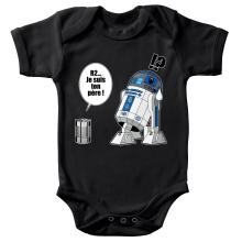 Body bébé  parodique R2-D2 - Je suis ton père : Boîte de conserve ... (Parodie )