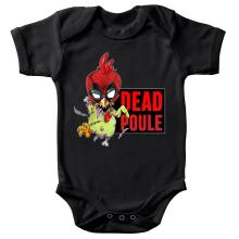 Body bébé  parodique Deadpool ou Dead Poule : Dead Poule (Parodie )