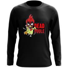 T-Shirt à manches longues  parodique Deadpool ou Dead Poule : Dead Poule (Parodie )