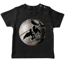 T-shirt bébé  parodique Dark Vador et l