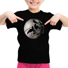 T-shirt Enfant Fille  parodique Dark Vador et l