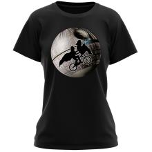 T-shirt Femme  parodique Dark Vador et l