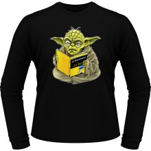 T-Shirts à manches longues  parodique Yoda : En grammaire, un zéro, il est... :) (Parodie )