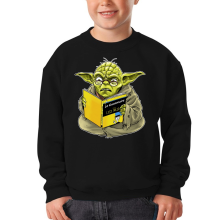 Sweat-shirts  parodique Yoda : En grammaire, un zéro, il est... :) (Parodie )