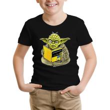 T-shirts  parodique Yoda : En grammaire, un zéro, il est... :) (Parodie )