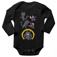 Body bébé manches longues  parodique Krokmou : Fusion Nocturne... (Parodie )