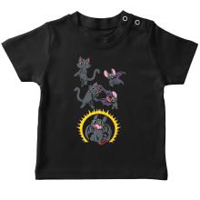 T-shirt bébé  parodique Krokmou : Fusion Nocturne... (Parodie )