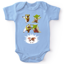 Short-sleeved baby bodysuit (boys) Movies Parodies