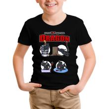 T-shirt Enfant  parodique Krokmou : How to NOT train your Dragon (Parodie )