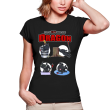 T-shirts Femmes  parodique Krokmou : How to NOT train your Dragon (Parodie )