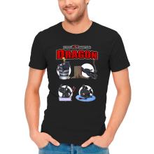 T-shirts  parodique Krokmou : How to NOT train your Dragon (Parodie )