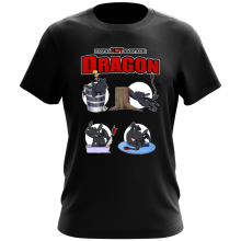 T-shirt  parodique Krokmou : How to NOT train your Dragon (Parodie )