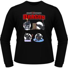 T-Shirts à manches longues  parodique Krokmou : How to NOT train your Dragon (Parodie )