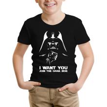 T-shirts  parodique Dark Vador se la joue Oncle Sam : I want You !! (Parodie )