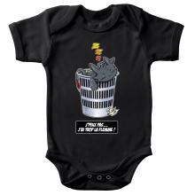 Body bébé  parodique Krokmou la Furie Nocturne : J