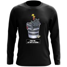 T-Shirt à manches longues  parodique Krokmou la Furie Nocturne : J
