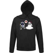 Sweats à capuche  parodique R2-D2 : Just Married... :) (Parodie )