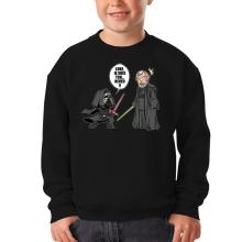 Sweat-shirts  parodique Kylo Ren Vs Luke Skywalker : Luke, je suis ton... ;) (Parodie )