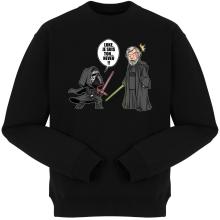 Pulls  parodique Kylo Ren Vs Luke Skywalker : Luke, je suis ton... ;) (Parodie )
