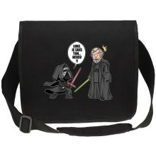 Sacs bandoulière Canvas  parodique Kylo Ren Vs Luke Skywalker : Luke, je suis ton... ;) (Parodie )