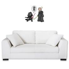 Décorations murales  parodique Kylo Ren Vs Luke Skywalker : Luke, je suis ton... ;) (Parodie )