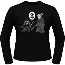 T-Shirts à manches longues  parodique Kylo Ren Vs Luke Skywalker : Luke, je suis ton... ;) (Parodie )
