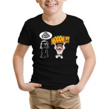 T-shirt Enfant  parodique Luke Skywalker et Dark Vador : Luke Life Episode I : Un père qui craint :) (Parodie )