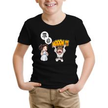 T-shirt Enfant  parodique Luke et Leila Skywalker : Luke Life Episode II : Une soeur indigne :) (Parodie )