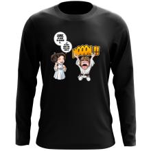 T-Shirt à manches longues  parodique Luke et Leila Skywalker : Luke Life Episode II : Une soeur indigne :) (Parodie )