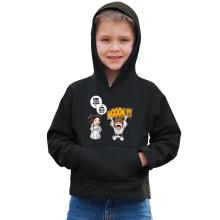 Sweat à capuche Enfant  parodique Luke et Leila Skywalker : Luke Life Episode II : Une soeur indigne :) (Parodie )