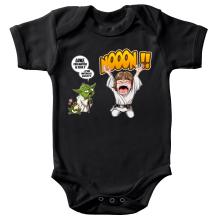 Body bébé  parodique Yoda et Luke Skywalker : Luke Life Episode IV : le Maître... (Parodie )