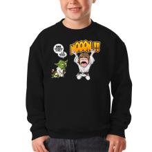 Pull Enfant  parodique Yoda et Luke Skywalker : Luke Life Episode IV : le Maître... (Parodie )