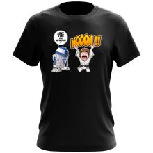 T-shirt  parodique Luke Skywalker et R2-D2 : Luke Life Episode V : un robot...ménager !! (Parodie )
