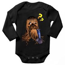 Body bébé manches longues  parodique Chewbacca : Qu