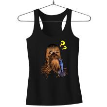 Débardeur Femme  parodique Chewbacca : Qu