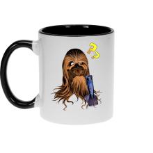 Mug  parodique Chewbacca : Qu