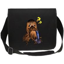 Sac bandoulière Canvas  parodique Chewbacca : Qu