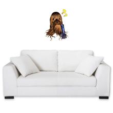 Sticker Mural  parodique Chewbacca : Qu