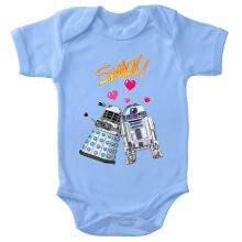 Body bébé  parodique R2-D2 in love d
