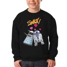 Pull Enfant  parodique R2-D2 in love d
