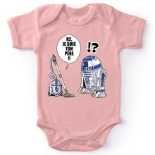 Body bébé (Filles)  parodique R2-D2 : R2, je suis ton père (Super Deformed) (Parodie )
