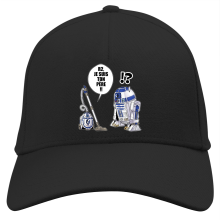 Casquette  parodique R2-D2 : R2, je suis ton père (Super Deformed) (Parodie )