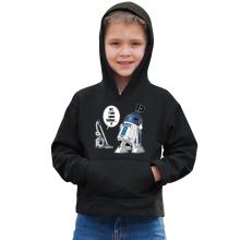 Sweat à capuche Enfant  parodique R2-D2 : R2... Je suis ton père ! (en VO remasterisée !) (Parodie )