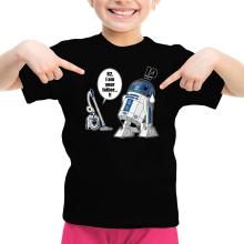 T-shirts  parodique R2-D2 : R2... Je suis ton père ! (en VO remasterisée !) (Parodie )