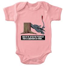 Body bébé (Filles)  parodique Krokmou : Rien de tel qu